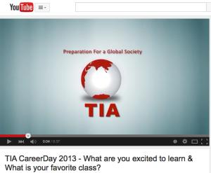 2013 TIA Career Day video
