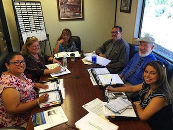 TIA School Superintendent Dr. Jennifer Herrera & staff