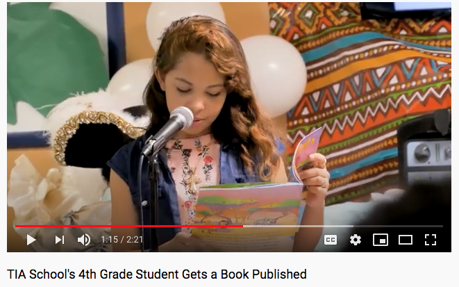 TIA Student Gets A Book Published
